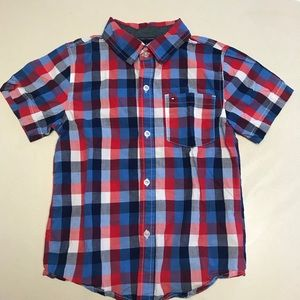 Tommy Hilfiger Short Sleeve Button Shirt-7